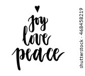Joy  Love  Peace. Christmas...