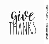 thank you friendship family... | Shutterstock .eps vector #468470351