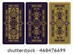vector illustration for tarot... | Shutterstock .eps vector #468476699
