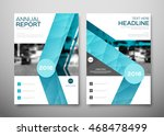 annual report brochure for... | Shutterstock .eps vector #468478499
