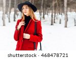 Winter Fashion Portrait Of...
