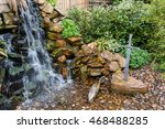 Waterfall And Sword In The...
