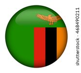 round glossy button with flag...   Shutterstock .eps vector #468490211