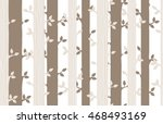 Wood Seamless Pattern. Forest...