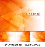 fractal abstract background.... | Shutterstock .eps vector #468502931
