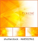 fractal abstract background.... | Shutterstock .eps vector #468502961