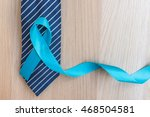 Light Blue Ribbon Symbolic Sig...