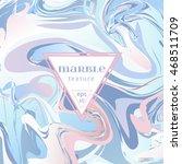 vector marble texture. mix of... | Shutterstock .eps vector #468511709
