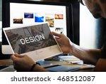 renovation repair construction...   Shutterstock . vector #468512087