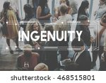 Small photo of ingenuity Inventiveness Cleverness Insight Creativity Concept