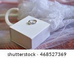 Two Wedding Rings Made Of Whit...