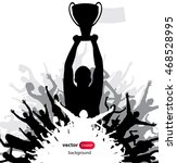 champions cup. poster | Shutterstock .eps vector #468528995