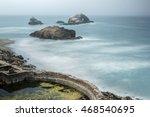 Foggy Ruins Of Sutro Baths  Sa...