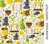 vector illustration with... | Shutterstock .eps vector #468557429