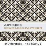 art deco seamless pattern with