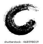 grunge brush wave.surfing wave... | Shutterstock .eps vector #468598019