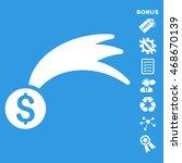 lucky money icon with bonus...   Shutterstock .eps vector #468670139