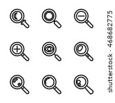 search vector icons. simple...