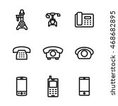 phone vector icons. simple...