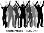 party people   vector   Shutterstock .eps vector #4687297