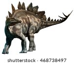 Stegosaurus 3d Illustration