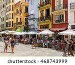valencia  spain   july 20  2016 ... | Shutterstock . vector #468743999