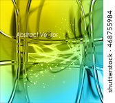 abstract vector pure background.... | Shutterstock .eps vector #468755984