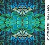 beautiful pattern abstract... | Shutterstock . vector #468761309
