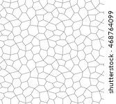 cracks pentagon seamless... | Shutterstock .eps vector #468764099