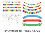 illustration of colorful... | Shutterstock . vector #468773729