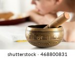 nepal buddha copper singing... | Shutterstock . vector #468800831