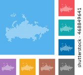 map of russia | Shutterstock .eps vector #468849641