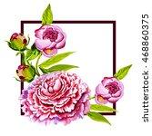 Pink Peony Watercolor ...