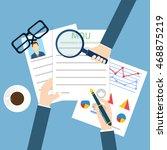 memorandum of understanding mou | Shutterstock .eps vector #468875219