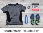 marathon kit  top view | Shutterstock . vector #468888449