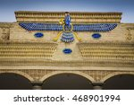 faravahar  the symbol of... | Shutterstock . vector #468901994