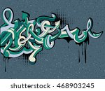 graffiti arrows background