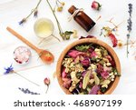Herbal Blend Of Various Dried...