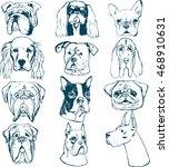 Hand Drawn Dog Portraits...
