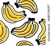 banana pattern   Shutterstock .eps vector #468919097