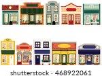boutique shops. | Shutterstock .eps vector #468922061