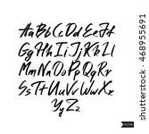 alphabet letters.black... | Shutterstock .eps vector #468955691