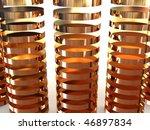 3d business statistics | Shutterstock . vector #46897834