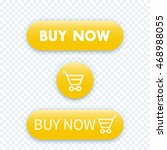 buy now  yellow buttons for web | Shutterstock .eps vector #468988055
