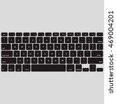 black keyboard stroke qwerty  ...   Shutterstock .eps vector #469004201