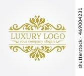 luxury logo | Shutterstock .eps vector #469004231