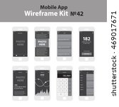 Mobile Wireframe App Ui Kit 42...