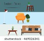 furniture. furniture store. set ...
