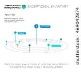 model of universe slide... | Shutterstock .eps vector #469042874