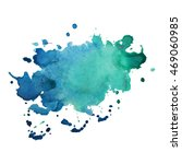 expressive abstract watercolor... | Shutterstock .eps vector #469060985